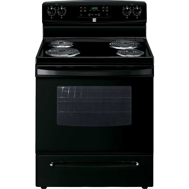 Kenmore 5.3 Cu. Ft. Black Electric Range