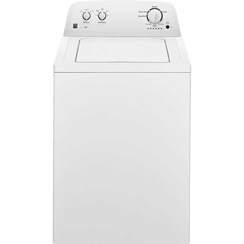 Kenmore 3.4 Cu. Ft. White Top Load Washer