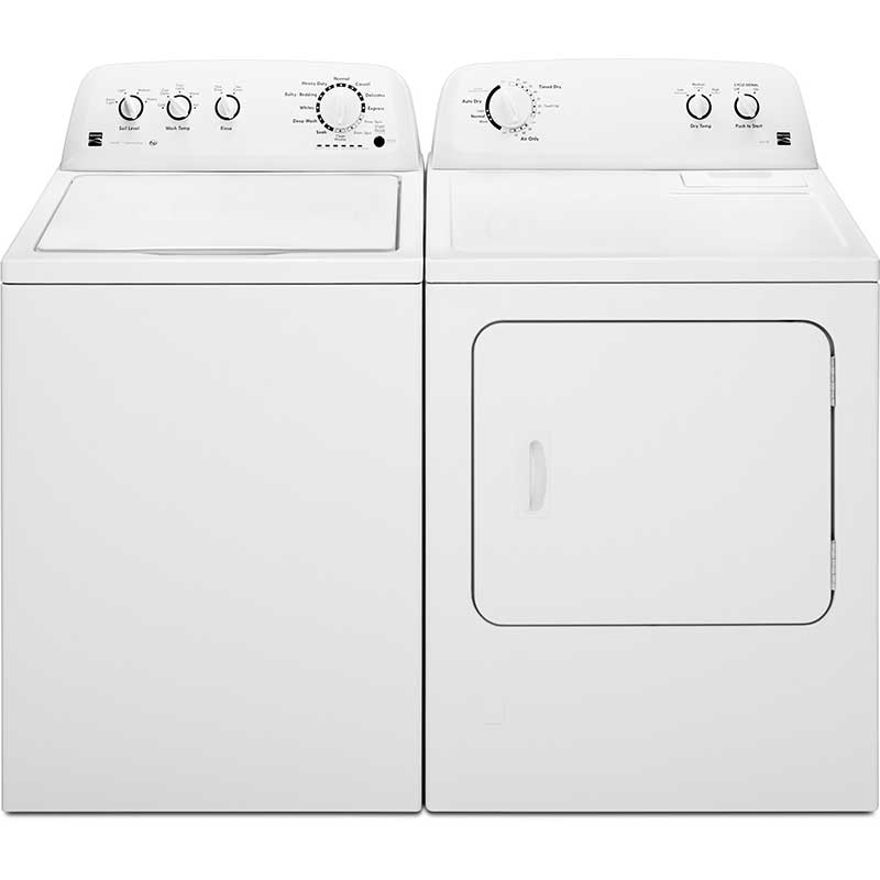 Kenmore 3.4 Cu. Ft. Top Load Washer & 7.0 Cu. Ft. Electric Dryer Set
