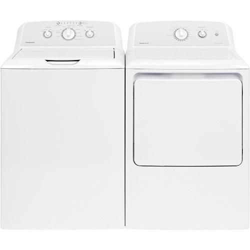 HotPoint Top Load Washer & 6.2 Dryer